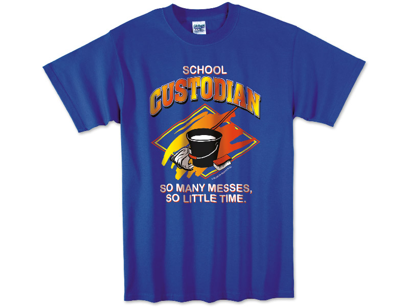 Photo of T-Shirt for School Custodians.